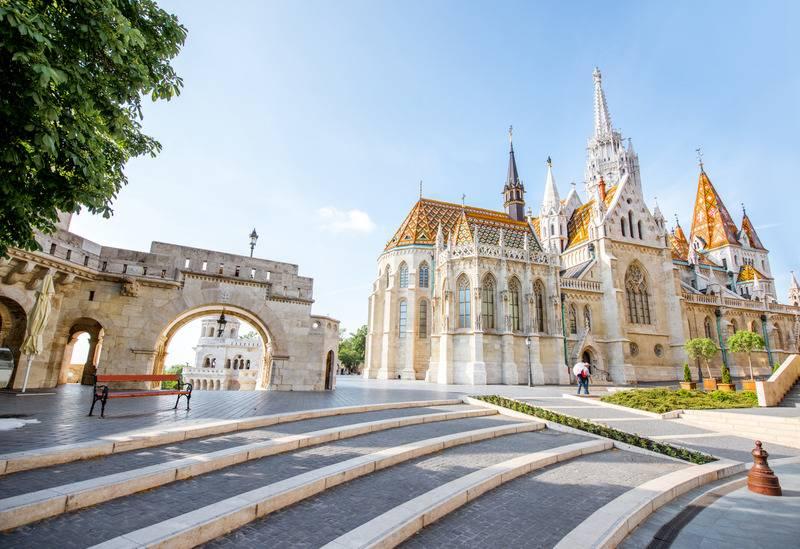 Wycieczka Baszta Rybacka Budapeszt