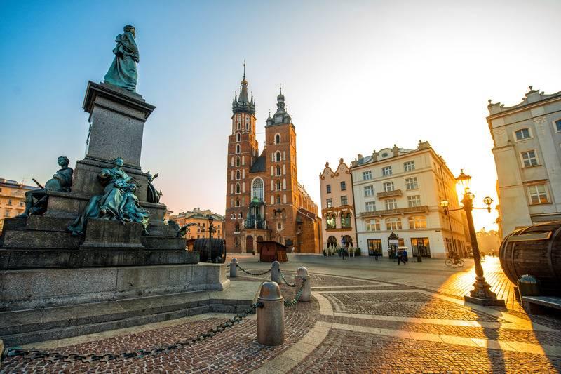 Pomnik Mickiewicza Kraków