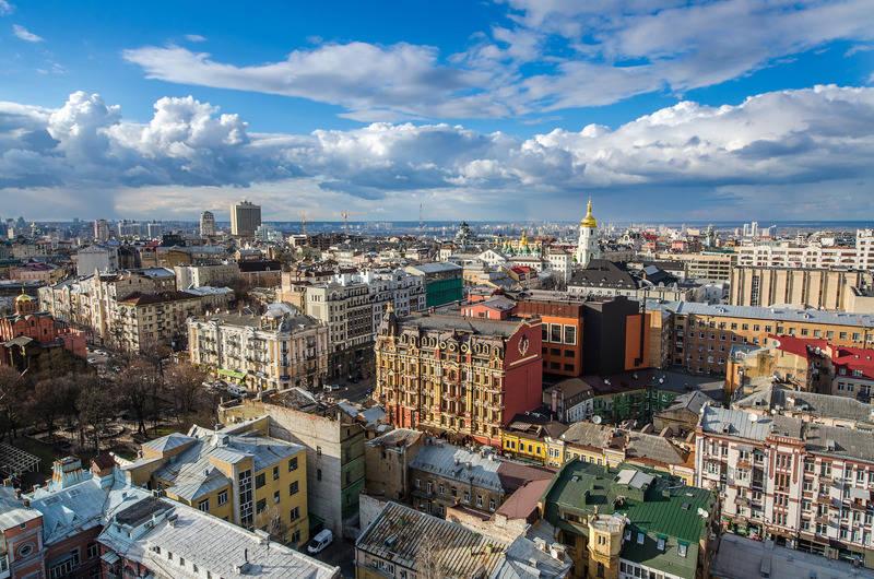 Kijów Miasto Złotych Kopuł