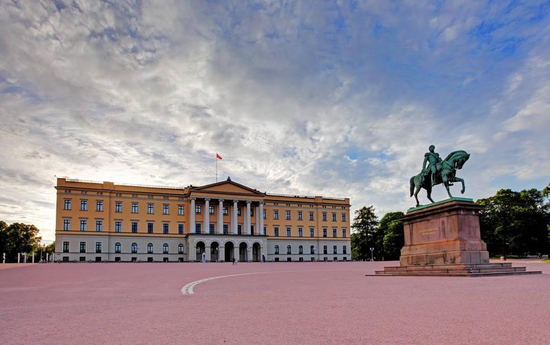 Pałac Slottet Oslo