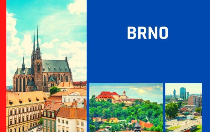 Zwiedzanie miasta Moraw - Brno