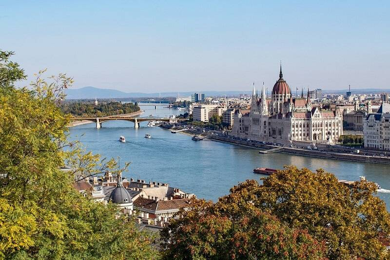 Budapeszt i rzeka Dunaj