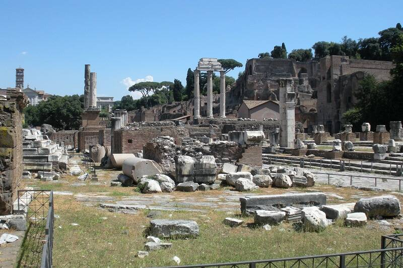 Wycieczka do Rzymu.