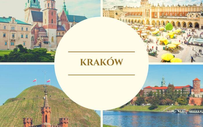 Zwiedzanie miasta Kraków