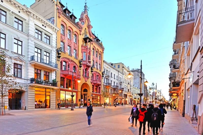 Odkryj miasto Łódź