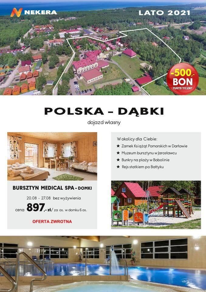 Wczasy Polska Dąbki