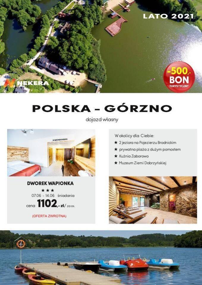 WCZASY POLSKA DWOREK WAPIONKA