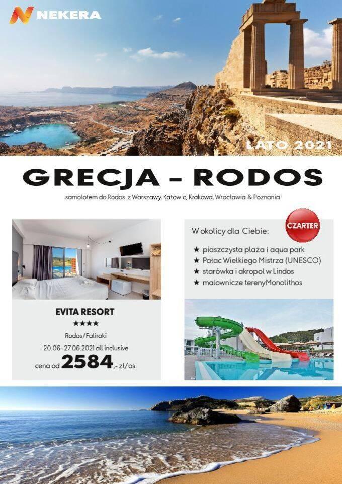 Wczasy Grecja Evita Resort Rodos