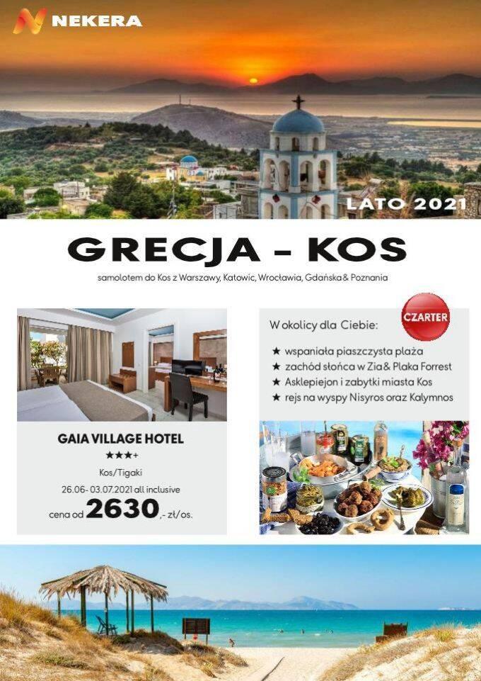 Wczasy Grecja Kos