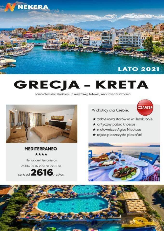 Wczasy w Grecji Wyspa Kreta