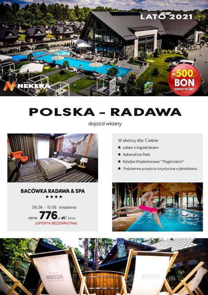 Wczasy Polska Radawa Bacowka