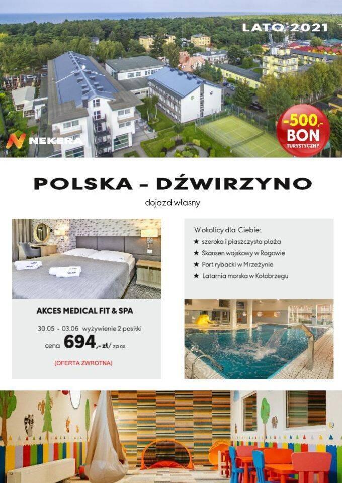 Wczasy Polska Akces Dźwirzyno