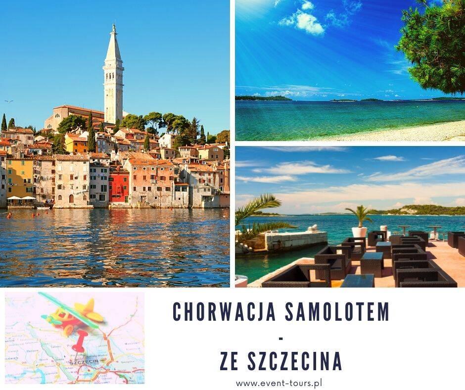 Chorwacja samolotem ze Szczecina