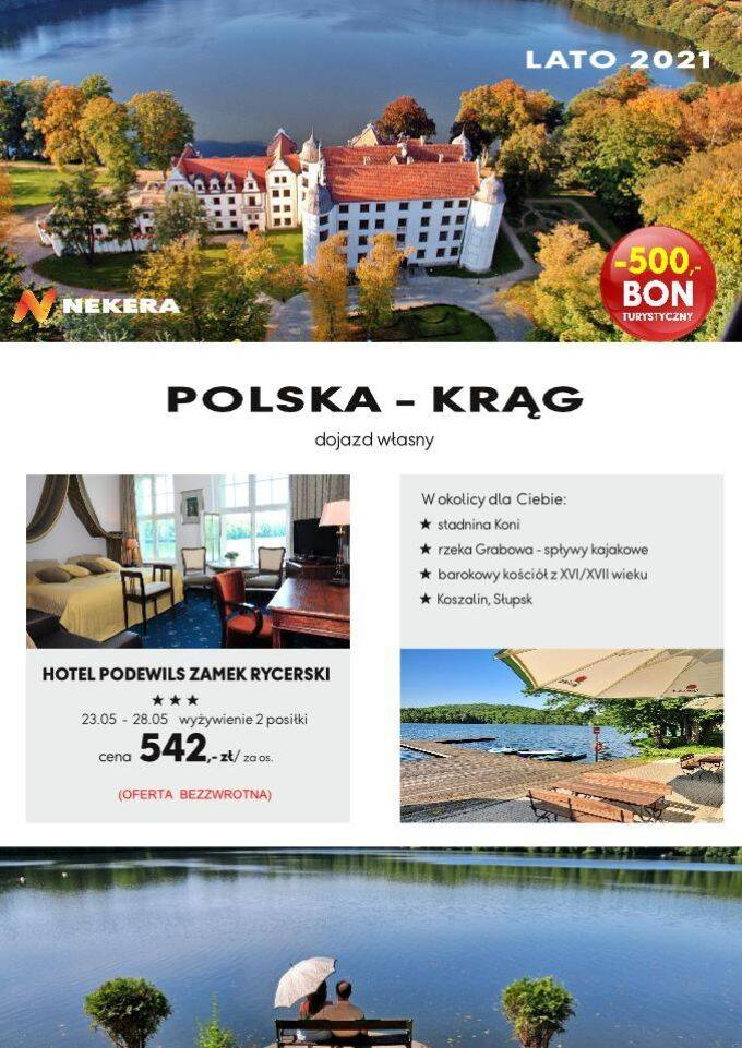 Wczasy Polska Podewils Zamek