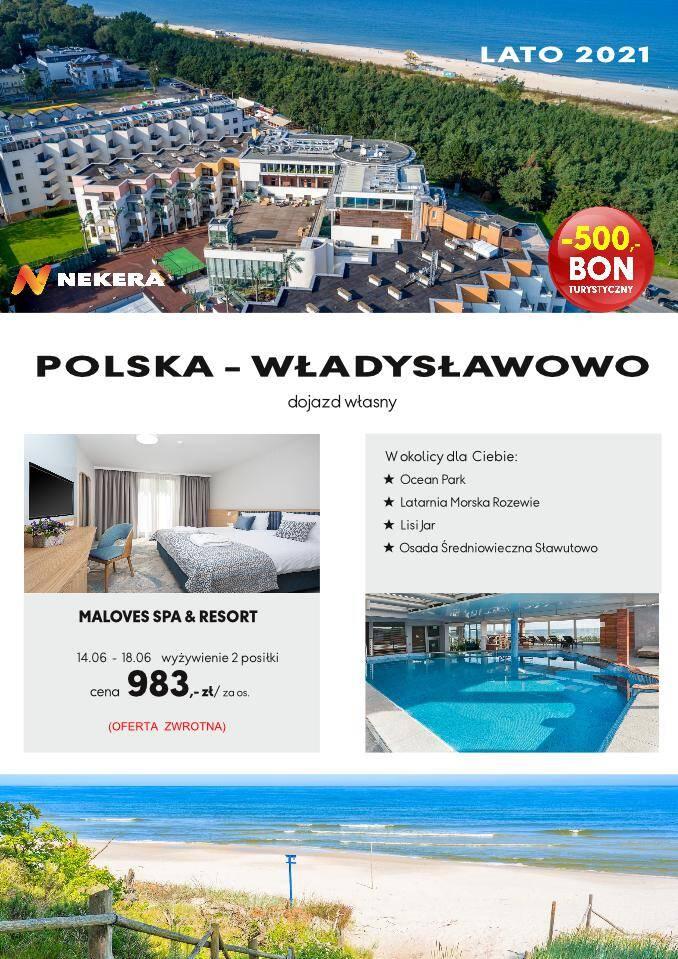 Wczasy Polska Hotel Władysławowo