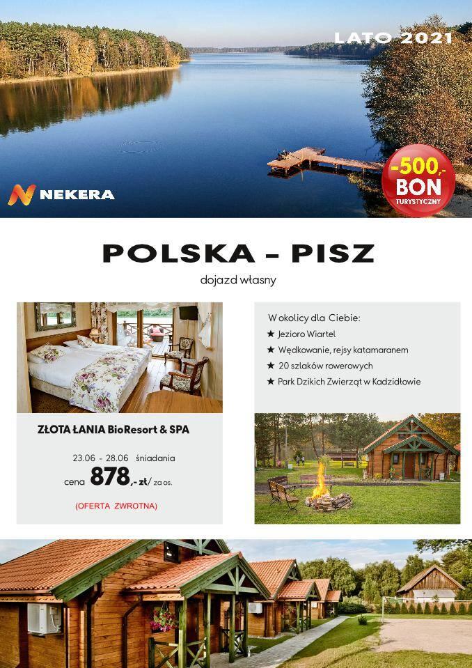 Wczasy Polska Złota Łania Resort